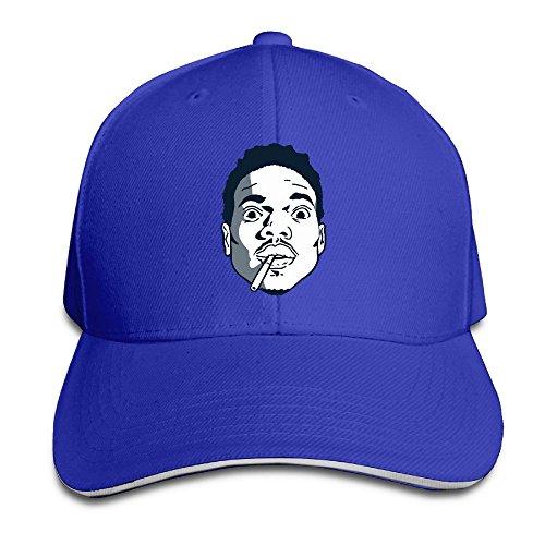 chance-the-rapper-unisex-100-cotton-adjustable-trucker-hat-royalblue-one-size