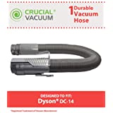 Replacement Grey Hose for Dyson Vacuum DC14; Compare to Dyson Part Nos. 908474-01, 908474-37; Designed and Engineered by Think Crucial