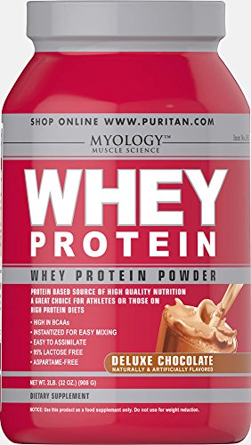 Myology Whey Protein Deluxe Chocolate-2 lbs Powder -