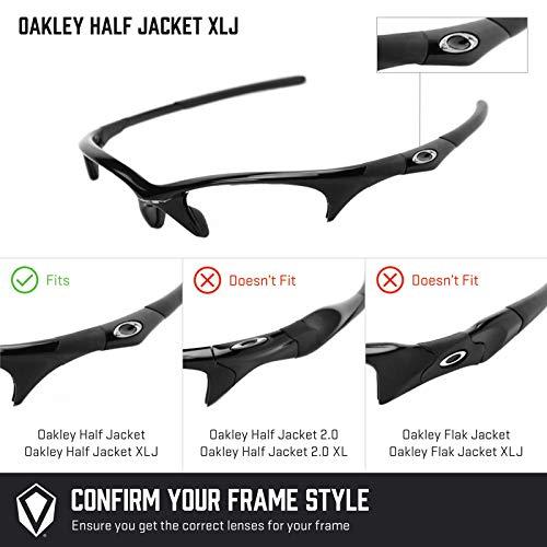 Negro Xlj Jacket Repuesto Para Opciones — Oakley Half Lentes No Polarizados Múltiples De Sigiloso 5PqwZXY