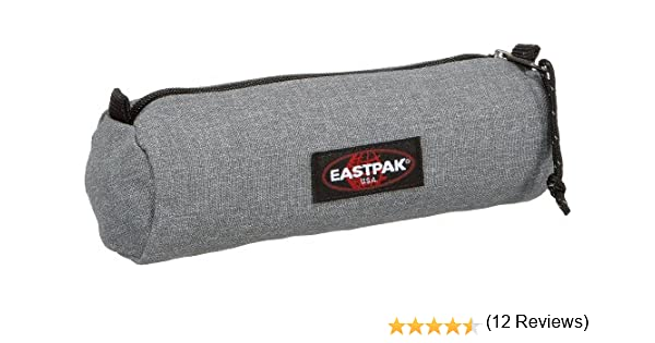 EASTPAK Round Single Estuche, 21 cm, Gris (Sunday Grey): Amazon.es: Zapatos y complementos
