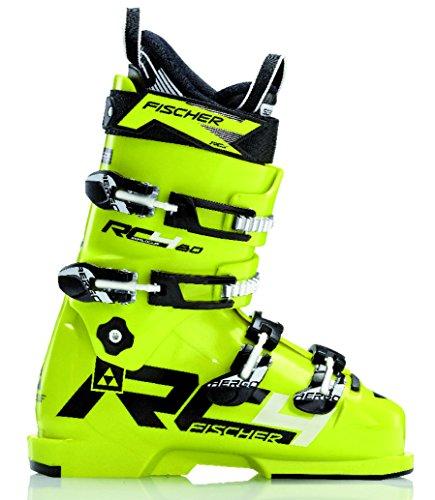 Fischer Mens Ski Boots - Fischer Rc4 Jr 80 Ski Boots Mens Sz 6.5 (24.5)