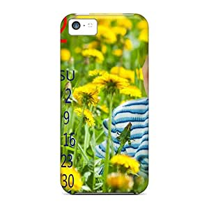 Case Cover Dec 2012 Calendar/ Fashionable Case For Iphone 5c
