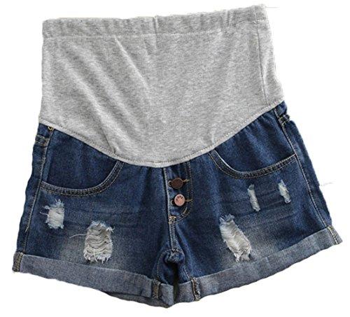 Woman Maternity Denim Shorts - 9
