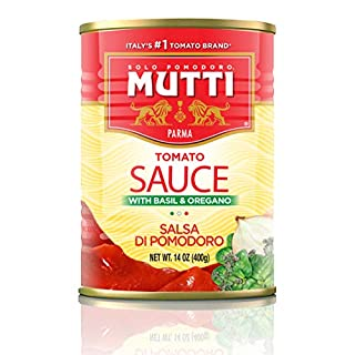 Mutti — 14 oz. 12 Pack of Tomato Sauce (Salsa di Pomodoro) from Italy's #1 Tomato Brand. Simple and delicious ready to use pasta sauce.