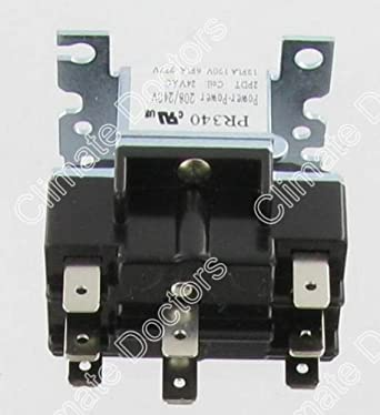 packard pr340 dpdt 24 volt coil switching relay amazon com rh amazon com 90340 Relay 24V Relay