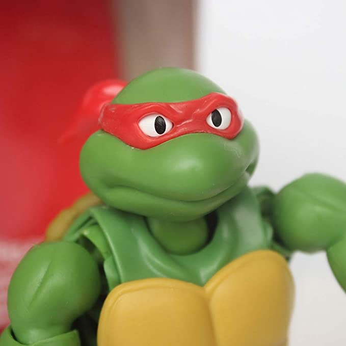 Ruyifang Las Tortugas Ninja: Pasta de Frijol Rojo Figura de ...