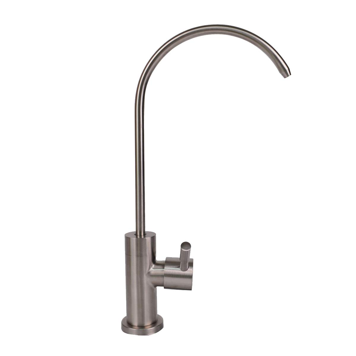 Baitaihem Drinking Water Faucet, Cold Water Filter Faucet, Stainless Steel Kitchen Sink Reverse Osmosis Filter, Beverage Water Filtration Faucet Brushed Nickel