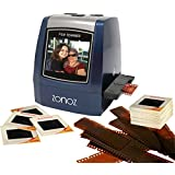ZONOZ FS-3 22MP All-In-1 Film & Slide Converter Scanner w/Speed-Load Adapters for 35mm, 126, 110 Negative & Slides, Super 8 Films - Includes Worldwide Voltage 110V/240V AC Adapter (Blue)