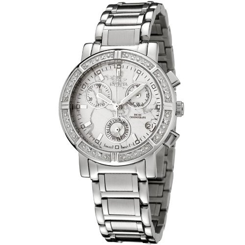 Invicta Women's 0280 Angel Collection Diamond Accented Chronograph ()