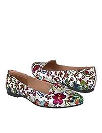 STYLO Zapatos DE Piso para Mujer 152 Plata