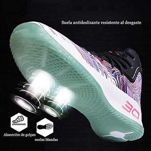Fitness Alto Esecuzione Purple Ginnastica Maglia Stivali Uomo Basket Da Sportive Scarpe In Caviglia Shock Elastico Alla qn061wB
