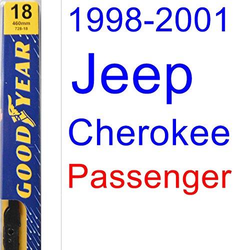 1998-2001 Jeep Cherokee Wiper Blade (Passenger) (Goodyear Wiper Blades-Premium) (1999,2000) hot sale