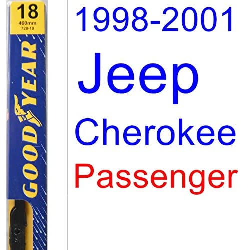 Discount 1998-2001 Jeep Cherokee Wiper Blade (Passenger) (Goodyear Wiper Blades-Premium) (1999,2000) hot sale