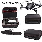 Inverlee Hardshell Shoulder Waterproof Box Suitcase bag for DJI Mavic AIR RC Quadcopter (Black)
