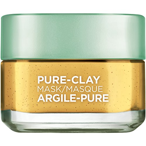 Problem Skin Mask (L'Oreal Paris Skin Care Pure Clay Mask Clarify & Smooth, 1.7 Ounce)