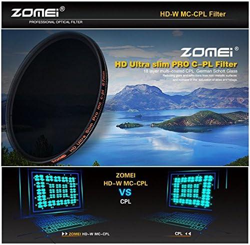 ZOMEI HD Optical Glass CPL Slim Multi-Coated Circular Polarizing Filter 40.5mm