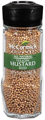 McCormick Gourmet Yellow Mustard Seed, 2.5 oz by McCormick