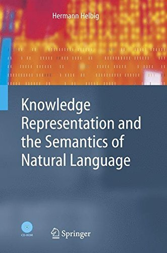 Download Knowledge Representation and the Semantics of Natural Language (Cognitive Technologies) Pdf