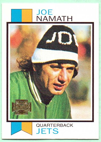 Joe Namath 2001 Topps Archives 1973 Reprint #140 - New York Jets