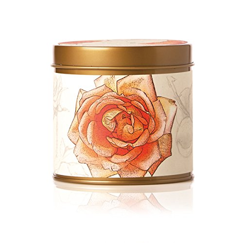 - Rosy Rings Signature Tin - Apricot Rose