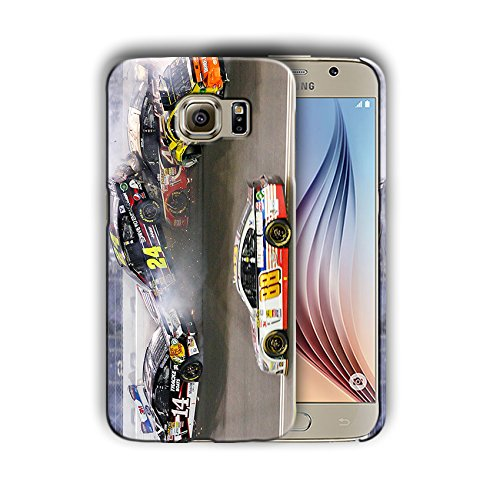 Nascar design for Samsung Galaxy S7 Hard Case Cover ()