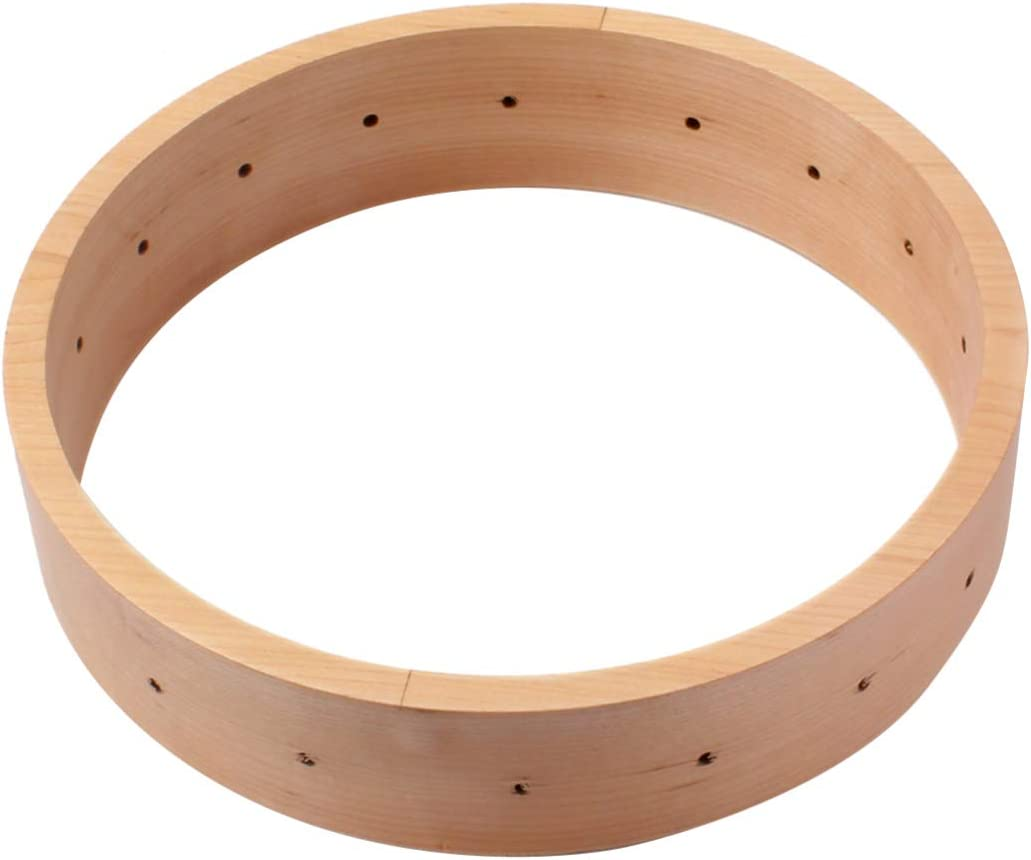 HEALLILY Banjo Rim Practical Creative Maple Simple Music Supplies Accessories Banjo Accessories for Home Store Shop