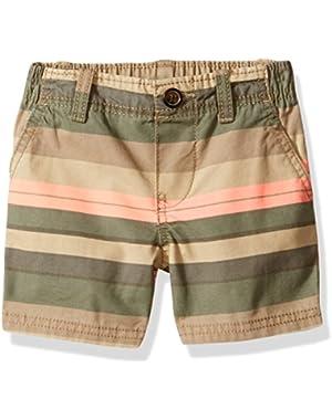 Unisex Baby Striped Shorts (Baby)