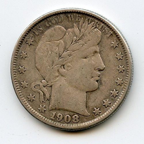 1908 O Barber Half Dollar XF-40
