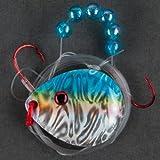 Berkley Walleye Colorado 5 Monofilament Flicker Rig, Hook Size: Front/Back 2/4
