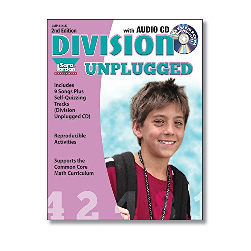 Division Unplugged - 2nd Edition, Reproducible Resource / Lyrics Book with Audio CD (Math Unplugged)