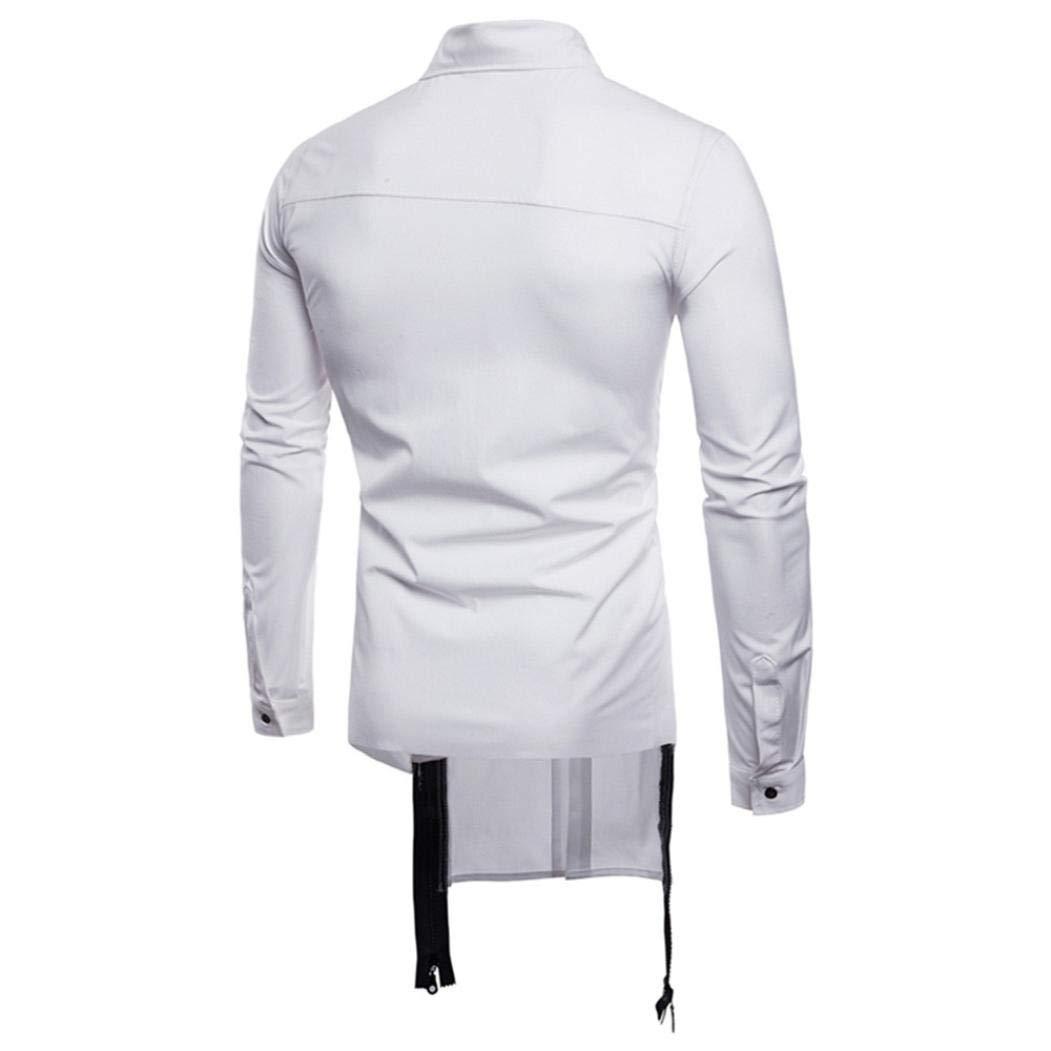 Camisas Casual Hombre Manga Larga, Covermason Blusa Delgada ...