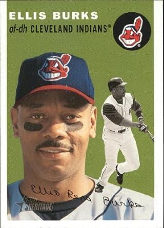 Amazoncom 2003 Topps Heritage Baseball Card 246 Ellis