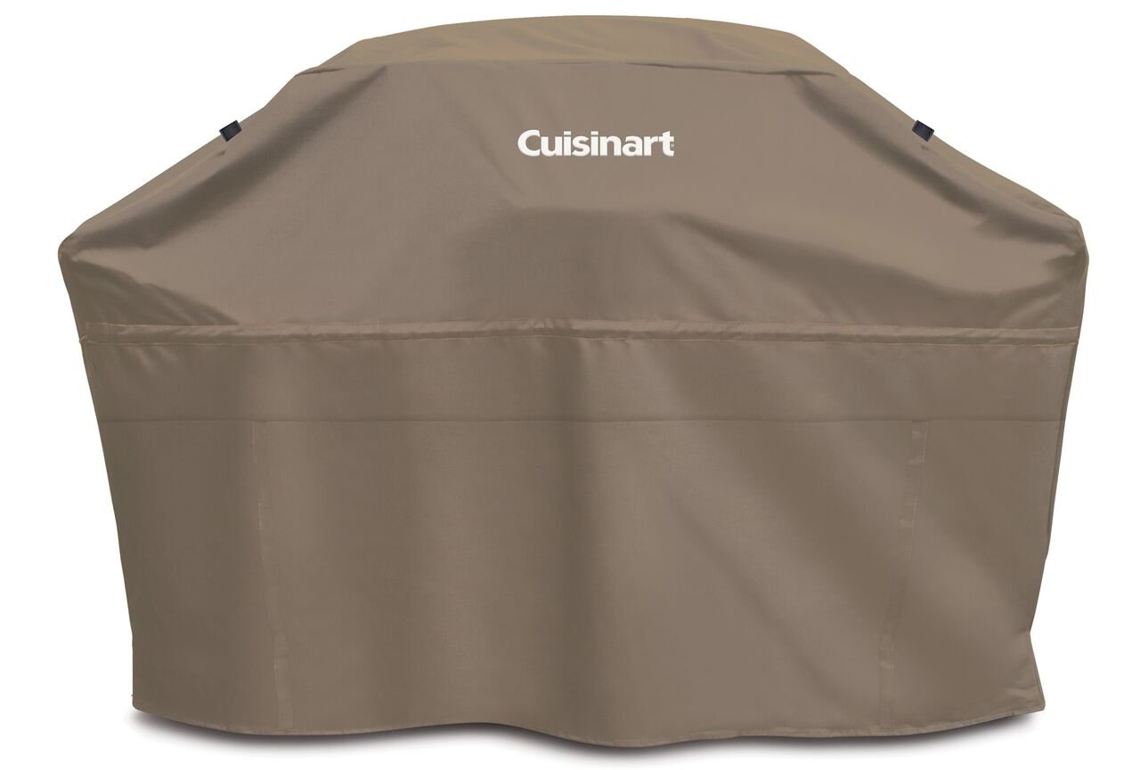 Cuisinart CGC-65T Heavy-Duty Barbecue Grill Cover, 65'', Tan