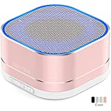 SWUKO Portable Bluetooth Speaker: Better Bass, Bluetooth 4.2, Built-in-Mic,Handsfree Call,AUX-IN,TF Card, HD Sound Wireless Speaker For Home,Bedroom,Beach,Travel,Party,Outdoor Perfect Gift