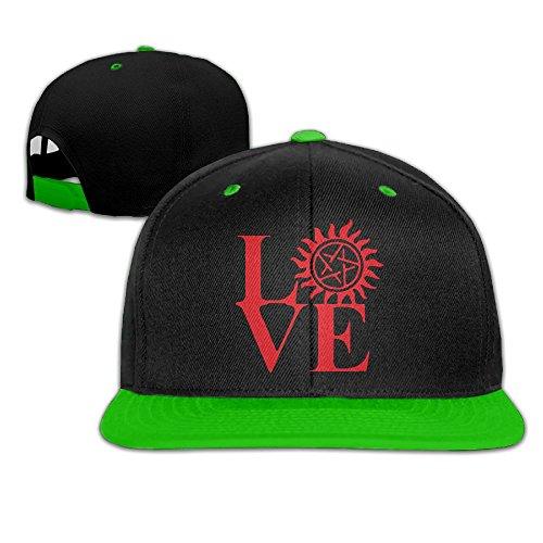 Love Supernatural Women&Men Contrast Color Hiphop Baseball Caps