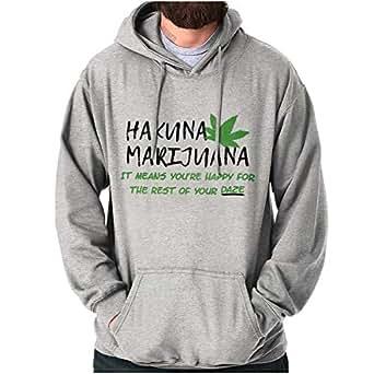 Hakuna Marijuana No Worries Funny Movie Hoodie