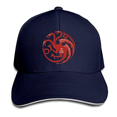 sunny-fish6hh-unisex-adjustable-targaryen-fire-and-blood-baseball-caps-hat-one-size-navy
