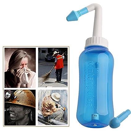 Keepart Sistema de Lavado Nasal para Alivio de Sinus y alergias, presión Nasal, Enjuague la neti