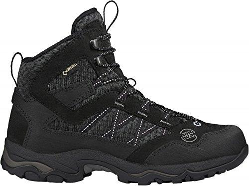 Hanwag Belorado Mid Winter Gtx, Zapatos de High Rise Senderismo para Hombre, Negro (Schwarz), 41.5 EU