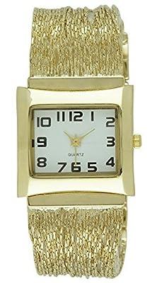 Moulin Women's Slinky Liquid Gold Bracelet Watch #16963.75748