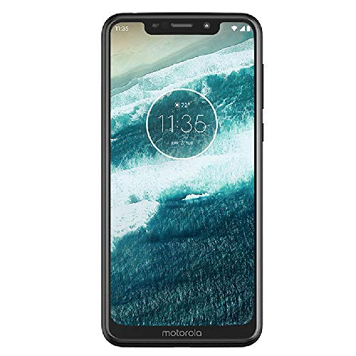Motorola Moto One - Android One - 64 GB - 13+2 MP Dual Rear Camera - Dual SIM Unlocked Smartphone (at&T/T-Mobile/MetroPCS/Cricket/H2O) - 5.9