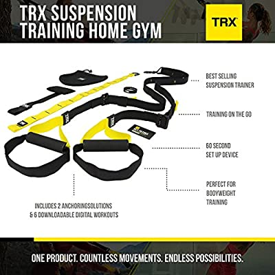 TRX Training - Home Gym Bundle, Build Your Core and Sculpt Your Body Anywhere by TRX