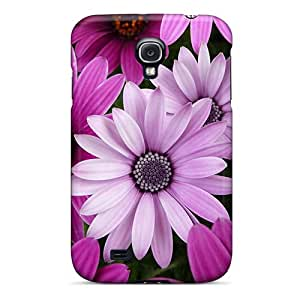 Galaxy High Quality Tpu Case/ Pink Flowers MgDvf5579NGEyb Case Cover For Galaxy S4