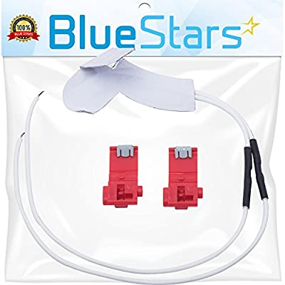 Ultra Durable WR49X10173 Dispenser Water Tube Heater Kit Replacement by Blue Stars - Exact Fit for General Electric Hotpoint Kenmore fridge - Replaces PS1766223, 1381601, AP4318572