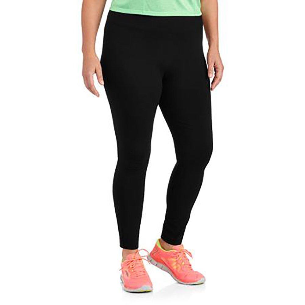 a77a2bb1fb429 Danskin Womens Plus-Size Dri-More Core Leggings (4X, Black) ... at Amazon  Women's Clothing store: