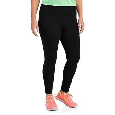 3298ee08c8bba Danskin Womens Plus-Size Dri-More Core Leggings (4X, Black) ... at Amazon Women's  Clothing store: