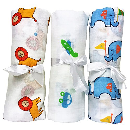 Baby Blankets Breathable Swaddling Receiving
