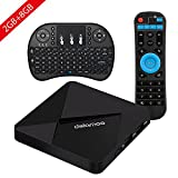 DOLAMEE D5 Android TV Box , 2GB RAM 8GB ROM 4K HD Smart Media Player with 2.4G WIFI Bluetooth 4.0 and Wireless Keyboard
