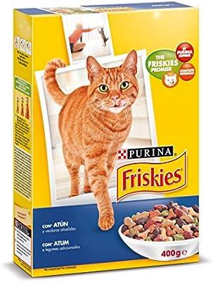 Purina Friskies Pienso Comida Seca para Gato Adulto, Sbor Atún y ...